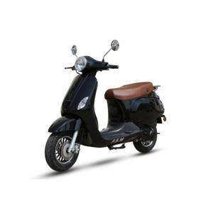 znen scooter new retro 50cc noir achat vente scooters 50 pas cher rueducommerce. Black Bedroom Furniture Sets. Home Design Ideas