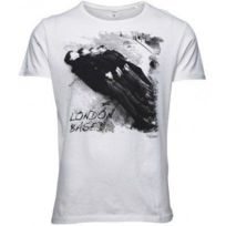 Jack & Jones - Jack and Jones - Tee-shirt Jack and Jones Blanc - Rolling - London Based