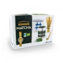 Hildegar De Debingen - Coffret de dégustation du thé Matcha à offrir pour les amateurs de thé Japonais ou pour ceux qui veulent découvrir le thé Matcha biologique