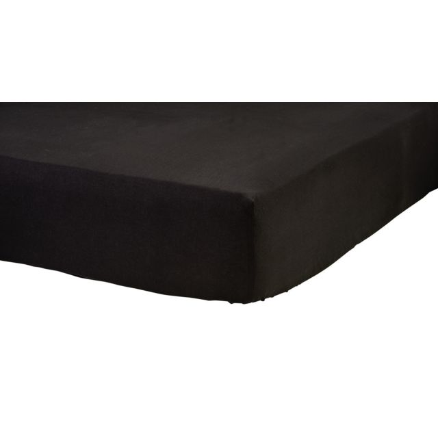 tex home drap housse en jersey coton durable pas cher achat vente draps housses. Black Bedroom Furniture Sets. Home Design Ideas