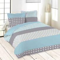 housse couette 240x260 achat housse couette 240x260 pas cher rue du commerce. Black Bedroom Furniture Sets. Home Design Ideas