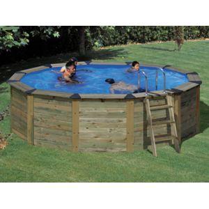 piscine bois san marina