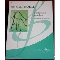 Billaudot Gerard Editions - Jm Damase - Introduction et contredanse - Partition clarinette