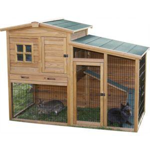 kerbl abri poules ou lapins fortunea pas cher achat vente poulailler rueducommerce. Black Bedroom Furniture Sets. Home Design Ideas