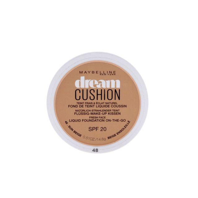Gemeymaybelline - Fond de teint Dream Cushion 48 Beige ensoleillé - Gemey  Maybelline 549db027d96