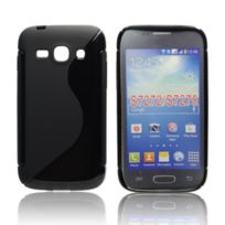 Bluetrade - Coque Tpu type S pour Samsung Ace 3 - S7270 Noire