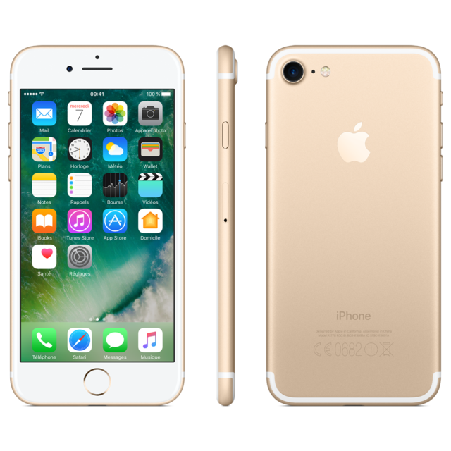 APPLE - iPhone 7 32 Go Or