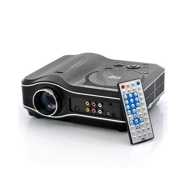 Auto-hightech Video projecturs Led avec lecteur dvd intégrée 800x600, 30 Lumens