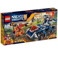 Lego - Protège le livre des sortilèges contre Burnzie dans le transporteur de tour d'Axl