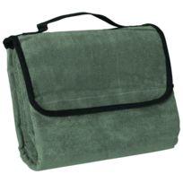 James & Nicholson - Plaid couverture polaire pique-nique 130 x 150 - Jn953 - vert olive