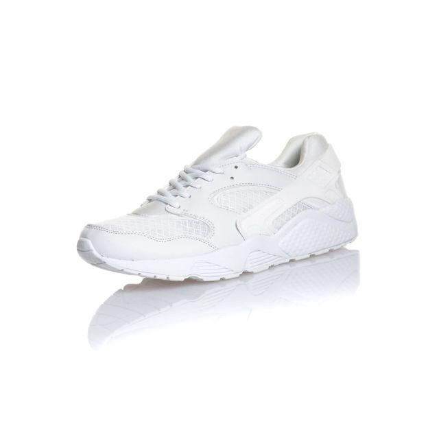 4cecf81d4882 BLZ Jeans - Basket blanche basse - pas cher Achat   Vente Baskets ...