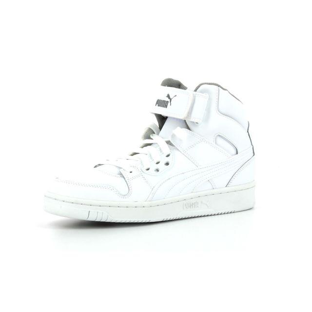 Acheter Puma Rebound Street Baskets montantes blanc