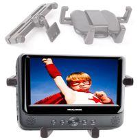 Duragadget - Fixation support appui-tête voiture pour tablette et lecteur Dvd portable jusqu'à 10.5 pouces
