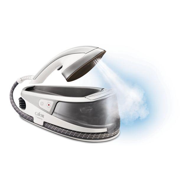 Calor fer vapeurdéfroisseur à main ni5011c0 blancgris