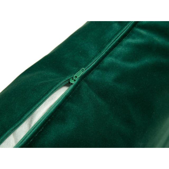 Mathilde Et Pauline - Lot de 2 coussins déhoussables en velours Velvet - Vert - 30 x 50 cm 0cm x 0cm