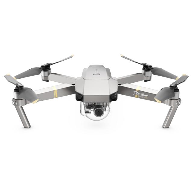 dji mavic pro platinum gris pas cher achat vente drone connect rueducommerce. Black Bedroom Furniture Sets. Home Design Ideas