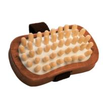 Croll Et Denecke - Brosse de massage anti-cellulite en bois sombre