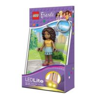 Lego - Porte-clés lumineux Led Andréa Friends - Lampe Mini-poupée