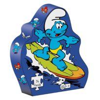 Barbo Toys - Puzzle 36 pièces : Puzzle Schtroumpf surf