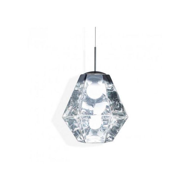 Tom dixon lampe design géométrique cut tall d50 cm chrome