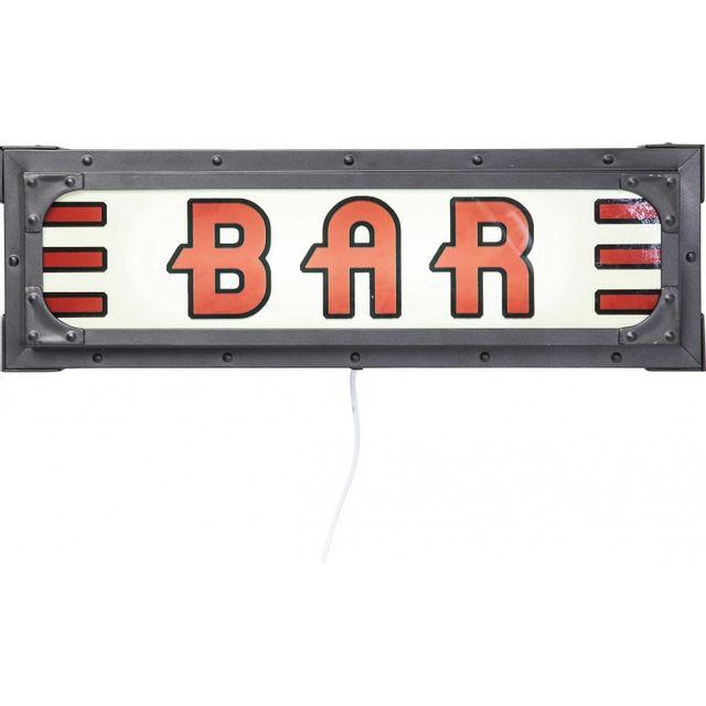 Karedesign Décoration lumineuse Bar Kare Design