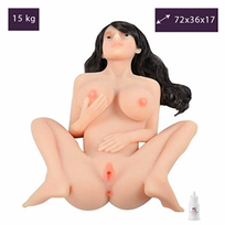 Love And Vibes - Poupée Silicone 15,0kg Suceuse Anus Vagin