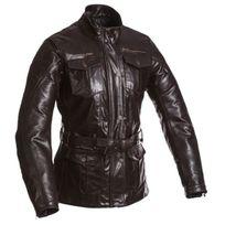 Segura - blouson veste moto cuir femme Lady Havana vintage toutes saisons marron Scv023 T5 46
