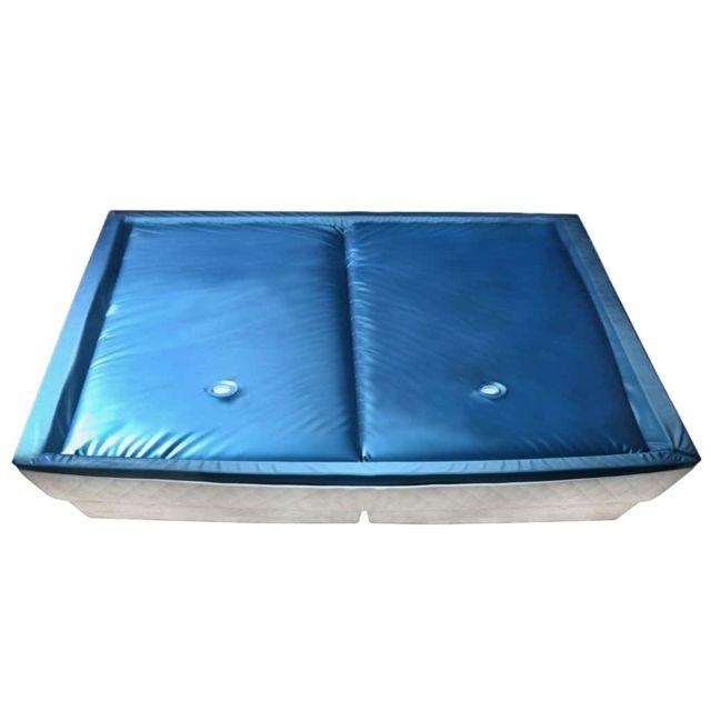 Distingué Lits et accessoires categorie Victoria Matelas à eau avec doublure et séparateur 200 x 220 cm F5