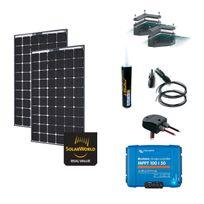 Myshop-solaire - Kit solaire 560w - 12 ou 24v camping-car/bateau anti-chocs