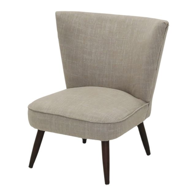Lebrun Fauteuil 1 place taupe Panama