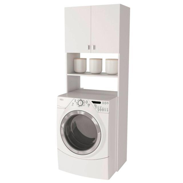 carrefour home meuble de rangement buanderie ou toilettes k 3006 pas cher achat vente. Black Bedroom Furniture Sets. Home Design Ideas