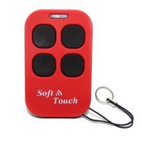 Creasol - Télécommande Multi Soft Touch Rouge
