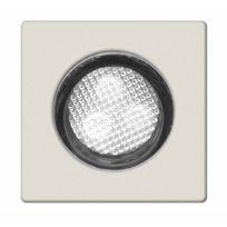 Brilliant - Asta - Kit de 10 spots carrés Led encastrables Extérieur Blanc H3cm - Spot designé par