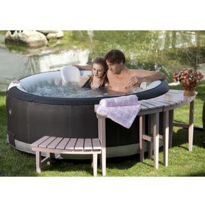 ospazia spa gonflable aqua spa succ s luxe 4 places pas cher achat vente spas jacuzzi. Black Bedroom Furniture Sets. Home Design Ideas