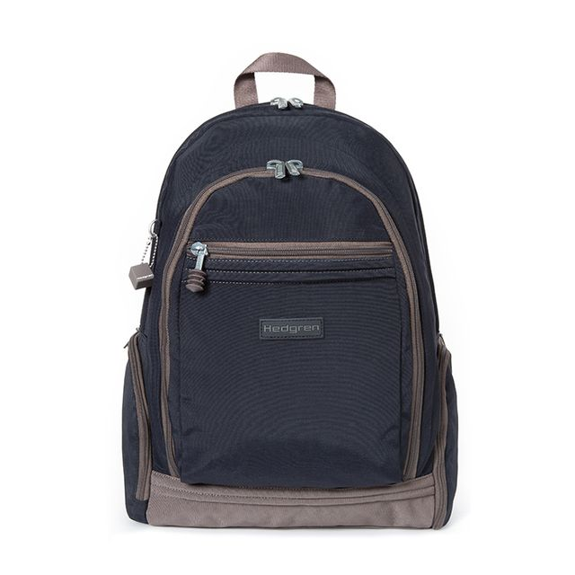 Hedgren - Sac à dos ordinateur Warner M 14 pouces 43 cm Midnight blue