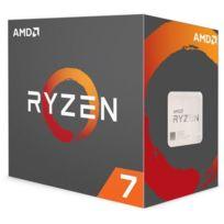 AMD - Processeur Ryzen 7 1700 65W AM4 8/16 Core/Tread 3.7 Ghz avec ventilateur