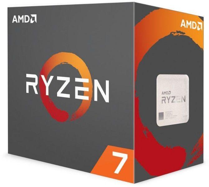 Processeur Ryzen 7 1700 65W AM4 8/16 Core/Tread 3.7 Ghz avec ventilateur