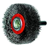 Osborn - Brosse circulaire, fil acier ondulé avec tige de 6 mm 60x10x6 mm 505161