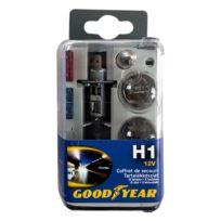 12V FUSIBLES 10//15A P21//5W H7 Goodyear Coffret 6 Lampes H1 R5W P21W C5W