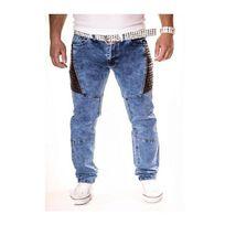 Kc 1981 - Jeans bi matière homme Kc1981 123 Bleu