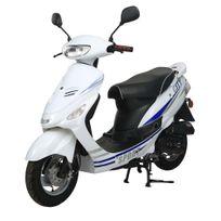 Eurocka - Scooter City sport 50cc 4T Blanc/bleu