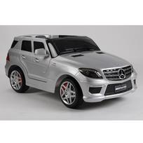 Mercedes - Voiture électrique enfant Ml63 à télécommande 12V Gris luxe