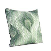 Karedesign - Coussin paon vert 45x45cm Kare Design