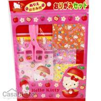 Casabento - Kit à Origami Hello Kitty avec ciseaux