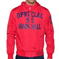 Us Marshall - Blouson Coupe Vent - Homme - Ve167 - Rouge Navy