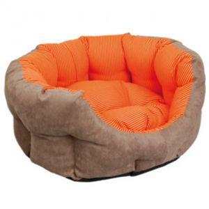 flamingo panier et coussin sunrise pour chiens taille 55 cm orange pas cher achat vente. Black Bedroom Furniture Sets. Home Design Ideas