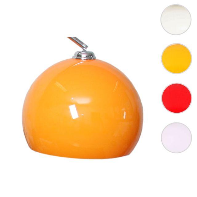 Mendler Abat-jour pour lampe Lounge Deal Ii, plastique, orange