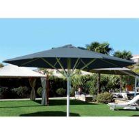 Abritez-vous Chez Nous - Parasol aluminium diam. 6m Maxisoco Gris