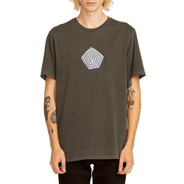 Volcom - T-shirt Noa Band Tee Noir Homme