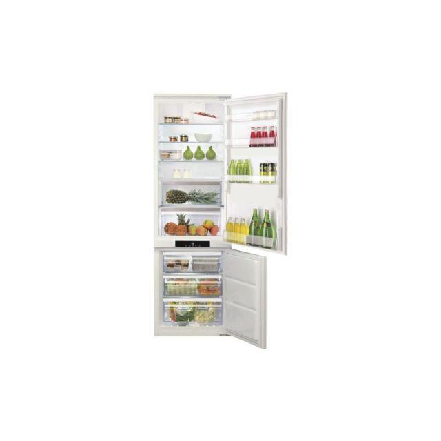 HOTPOINT Bcb7030aafc-refrigerateur Encastrable Congelateur Bas-260 L 197+63 L-froid Brasse / Ventile No Frost-a+-l54xh177 Cm-bla